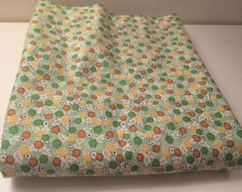 6 Yds Floursack by Whistler Studios in Green/Yellow/Orange