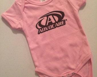 Advocare Logo Onesie Newborn-3-6-9-12 months