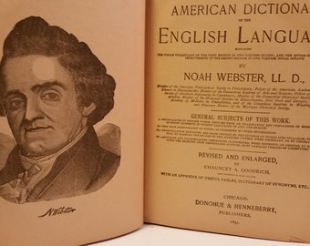 1895 Webster's American Dictionary of the English Language