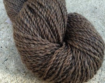 50/50 Chocolate Alpaca/Wool 250yds 2ply worsted