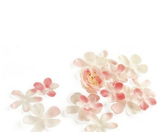 Silk Cherry Blossom Wedding Flower Girl or Party Decor - Pkg 135