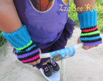 Color Pop Fingerless Gloves
