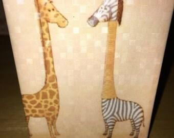 Giraffe vs Zebra
