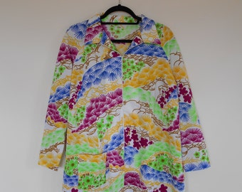 Vintage 70's Patterned tunic