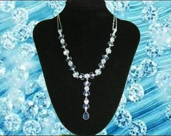 """Necklace """"Diamond Butterfly"""" (Princess)"""