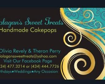 A Dozen HandMade Cakepops