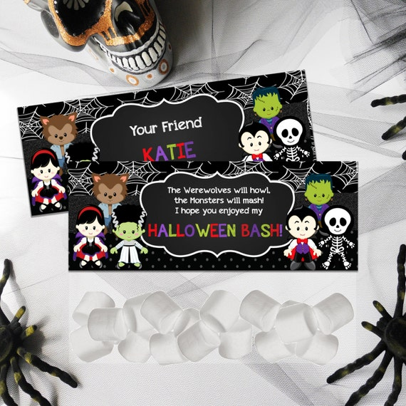 Halloween Candy toppers