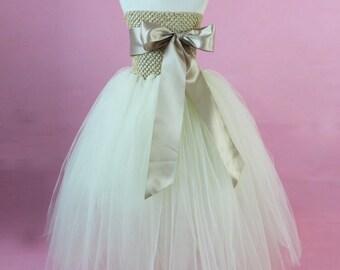 Tutu sash dress