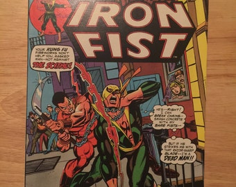 Marvel Premiere 16 featuring Iron Fist