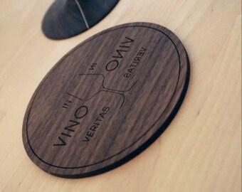 Coasters - in vino Veritas