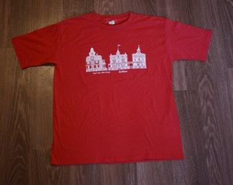 Vintage Cape May, New Jersey Collier's T-Shirt Red