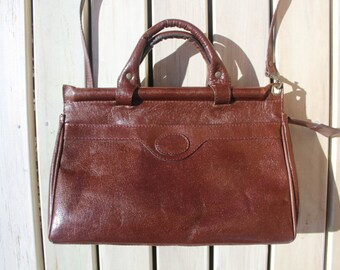 Genuine Leather Satchel