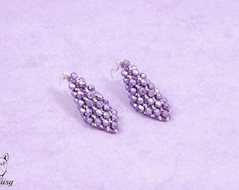 Lilac Earrings