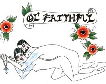 Ol' Faithful Print