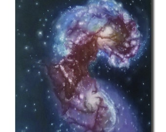 Poster of Antennae Galaxies