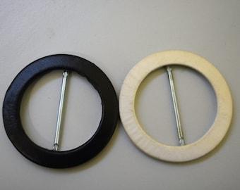 50mm round buckle (tajo), custom made,fabric