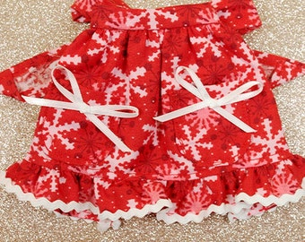 Handmade Christmas Barbie Apron