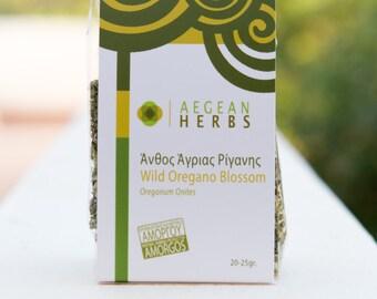 Wild Oregano Blossoms from Greece. Origanum Onites.