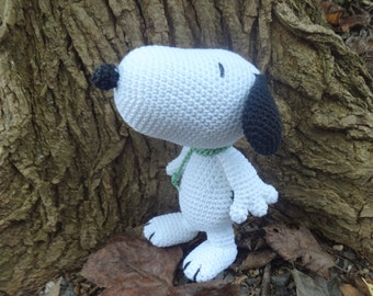 Snupi- little funny puppy. Hand made toys. Stuffed toys.