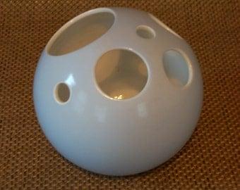 pale blue  mod bud vase