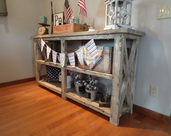 Rustic Farmhouse Console/Buffet Table