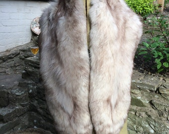 Silver Fox Stole
