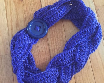 Braided Infinity Scarf - READY TO SHIP