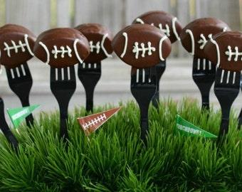 Football Style Cake Pops