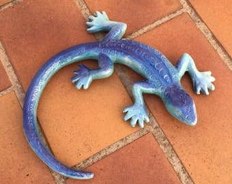 French SALAMANDER WALL DECORATIVE provence moustier handmade 3