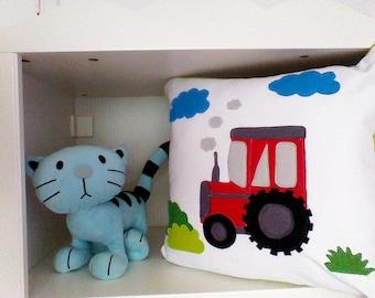 Tractor pillow/Boys pillow/ Children pillows/