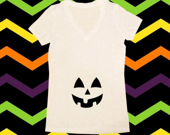 Pumpkin Maternity Shirt, Halloween Shirts, Maternity Shirts, Womens Shirts, Womens Halloween Shirts, Expecting, New Mom, Mommys Pumkin