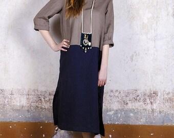 Pure linen blouse