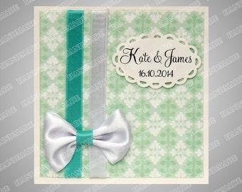Wedding invitations custom card hand made embossed 58 wedding cards wedding invitation