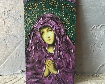 Mother of God in Purple