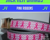 Pink Ribbon Belt
