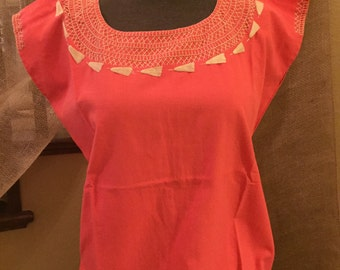 Handmade mexican blouse