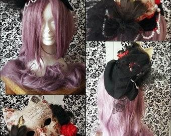 Gothic Macabre headdress