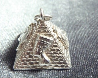 Sterling Silver Pyramid Pendant RP11