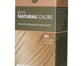 9G Golden Blonde Hair Dye with Organic Ingredients