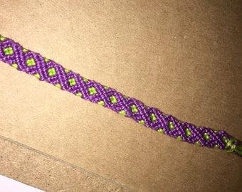 Double Helix friendship bracelet