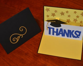 Pop-Up Graduation Card