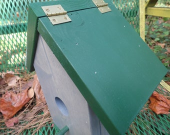 Birdhouse Grey Cleanable