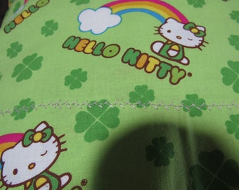 Hello Kitty  -  Pillow cases,  single or queen size,  pair of cases