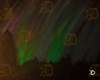 Aurora... Acrilic Painting By Daividh McGregor Didital Download Fine Art
