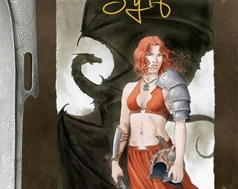 Sylf, illustrated novel