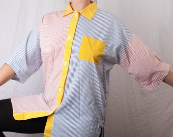 Brooklyn Jester Oversized Button Up (70s)