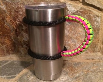 Yeti handle Paracord 20 ounce cup Rambler