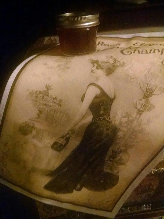 Kitty Pearl's Elegant Lavendar Champagne Gift Set