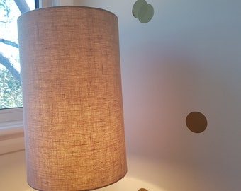 Linen Lamp Shade Hand Made... orders taken for specific sizes