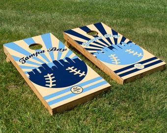 Tampa Bay Rays Cornhole Board Set